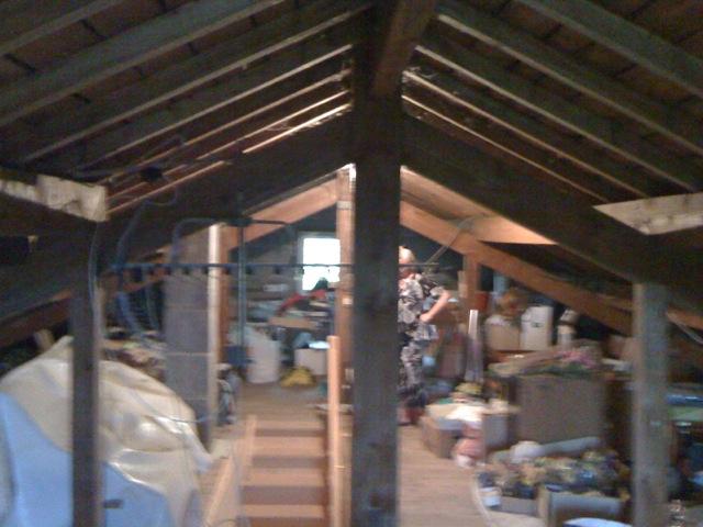 Renovation sous toiture